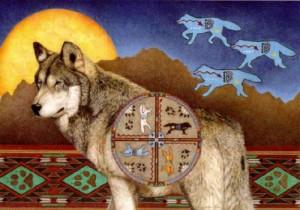 rueda lobo